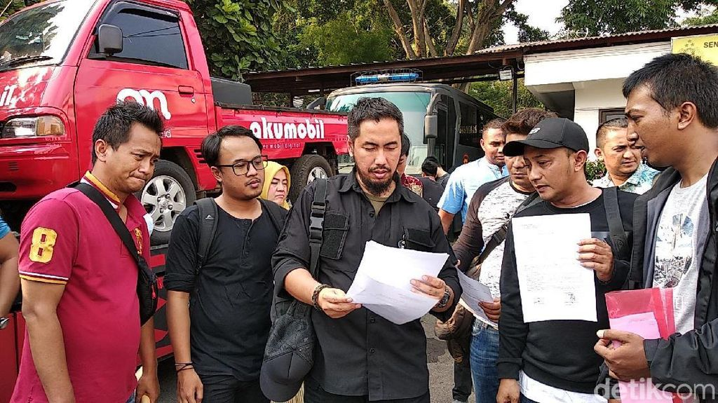 Didampingi Sunan Kalijaga, 10 Korban Penipuan Akumobil Lapor Polisi