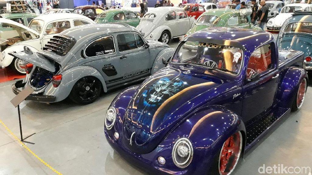 Dari yang Mulus sampai Karatan, Ratusan VW Klasik Meriahkan Yogya