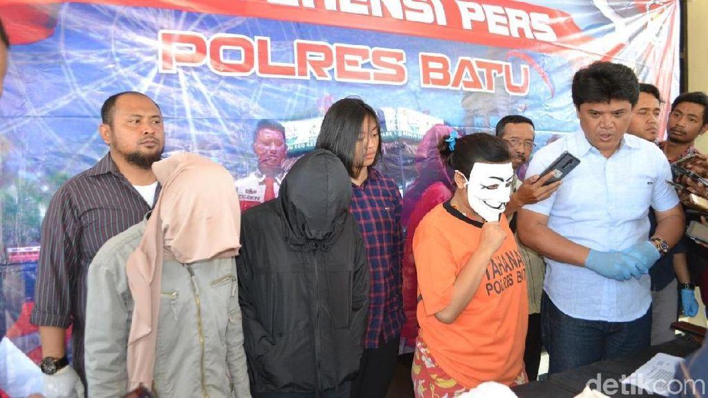 Prostitusi Online di Kota Batu Diungkap, Muncikari 18 Tahun Diamankan