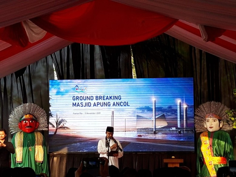 Groundbreaking Masjid Apung Ancol, Anies Harap Jadi Ikon Indonesia