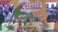 Tasya Farasya di acara Surabaya x Beauty