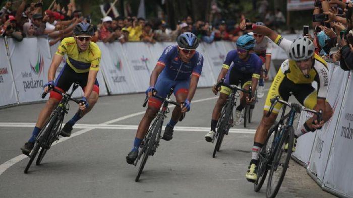 Etape 7 Tour de Singkarak dimenangi pebalap Iran Mohammad Ganjkhanlou. Foto: ist.