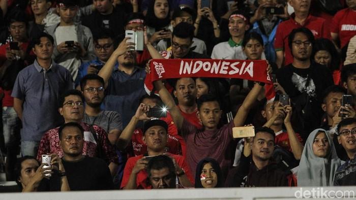 Ilustrasi suporter Indonesia (Foto: Rifkianto Nugroho/detiksport)