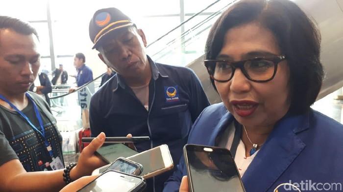 Ketua DPP NasDem Irma Suryani Chaniago (Faiq Hidayat/detikcom)