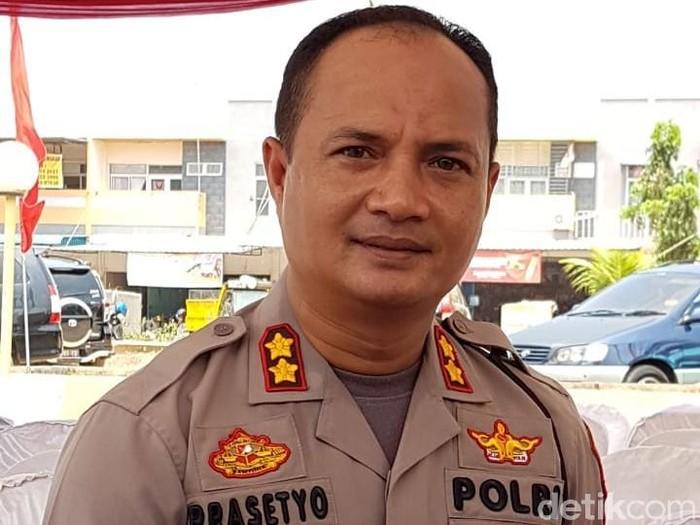 Kapolresta Barelang AKBP Prasetyo Rachmat Purboyo (Agus Siswanto/detikcom)