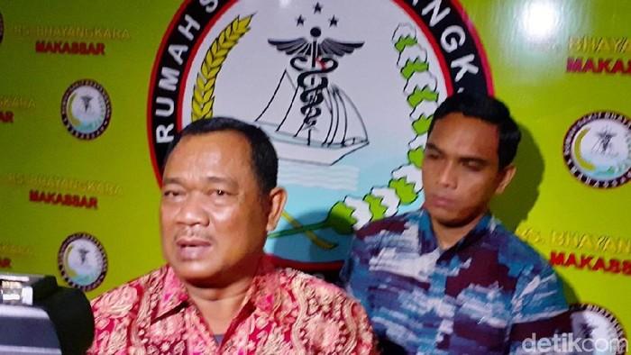 Kepala Bidang Kedokteran Kepolisian (Dokpol) Polda Sulawesi Selatan Kombes dr. Raden Harjuno (Muhammad Nur Abdurrahman/detikcom)