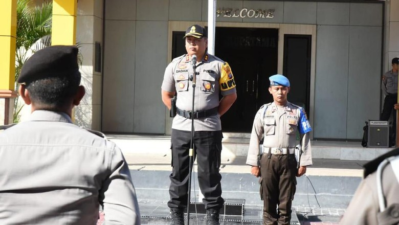 Kapolres Donggala soal 2 Polisi Tertembak: Hanya 1 Senjata yang Dipakai