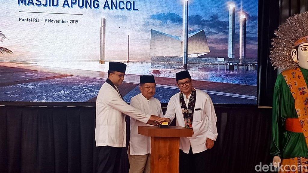 Anies Resmikan Pembangunan Masjid Apung Jakarta