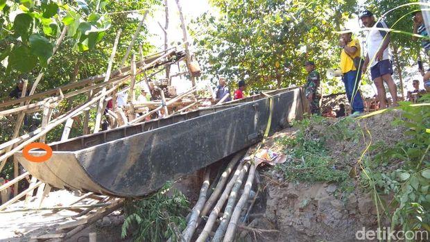 Ditemukan Tulisan MFB 6 di Lambung Perahu Baja, Apa Artinya?