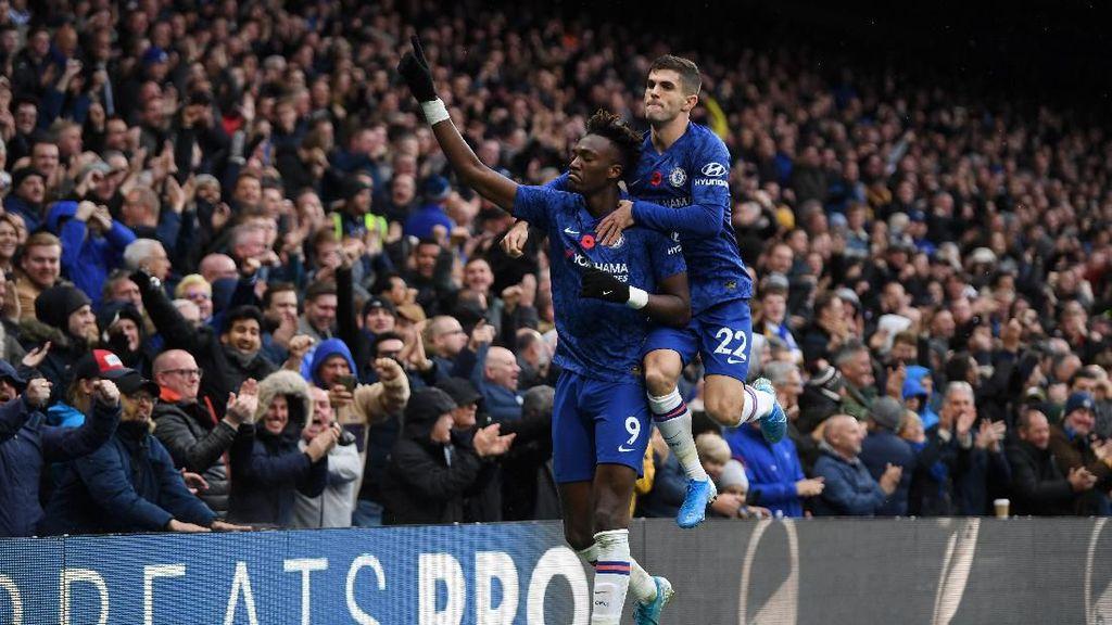 Chelsea Vs Palace: Menang 2-0, The Blues Naik ke Posisi Dua
