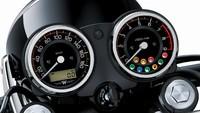 Seperti W800 Cafe, W800 mengusung mesin Vertical Twin 773 cc, SOHC, berpendingin udara dan memenuhi peraturan emisi Euro4. Mesin W800 menggunakan aksen berwarna silver. Dan dalam kondisi standar, mesin itu bisa memuntahkan tenaga maksimal 52 PS pada 6.500 rpm dan torsi 62,9 Nm pada 4.800 rpm. Istimewa/Dok. Kawasaki.