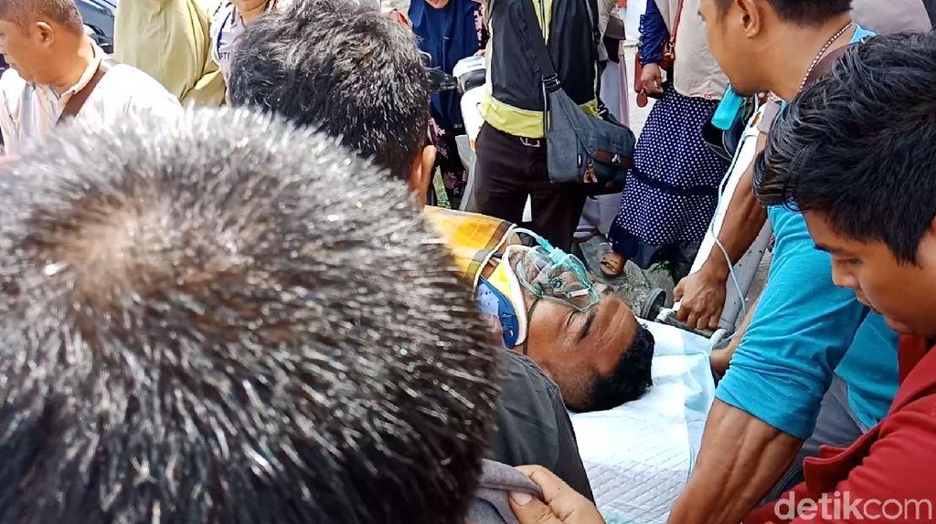 Polisi Sirenja yang Tertembak Dibawa ke Makassar untuk Perawatan Intensif