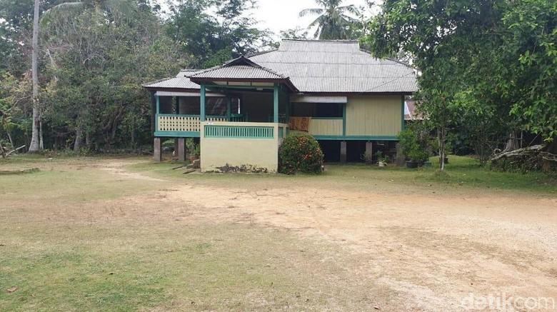 Rumah adat Suku Melayu di Karimun (Foto: Ahmad Masaul Khoiri/detikcom)