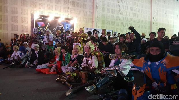 Adu Cosplay Bikin Seru Grand Final SEACA 2019