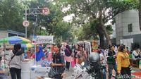 Begini Zona PKL Jualan di CFD Ala Anies, Satpol PP Bersiaga