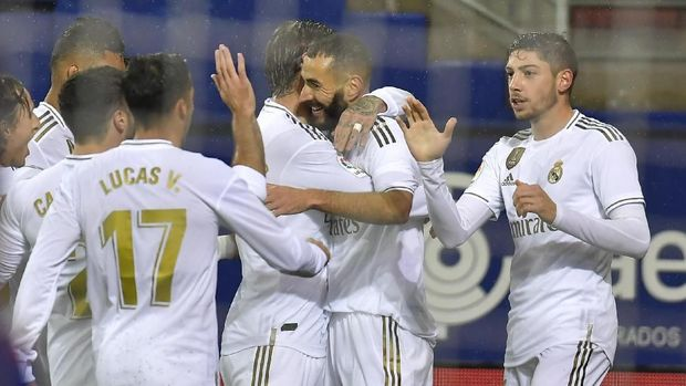 Real Madrid membidik kemenangan untuk mengamankan tiket lolos ke babak 16 besar.