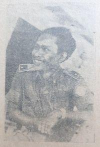 Abdullah si Pengayuh Becak, Petempur di Palagan Surabaya