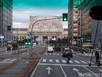 Jalanan Kota Milan, Masuk Kota Harus Bayar.