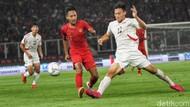 Babak 1 Kualifikasi Piala Asia U-19: Timnas Indonesia Tertinggal 0-1 dari Korea Utara