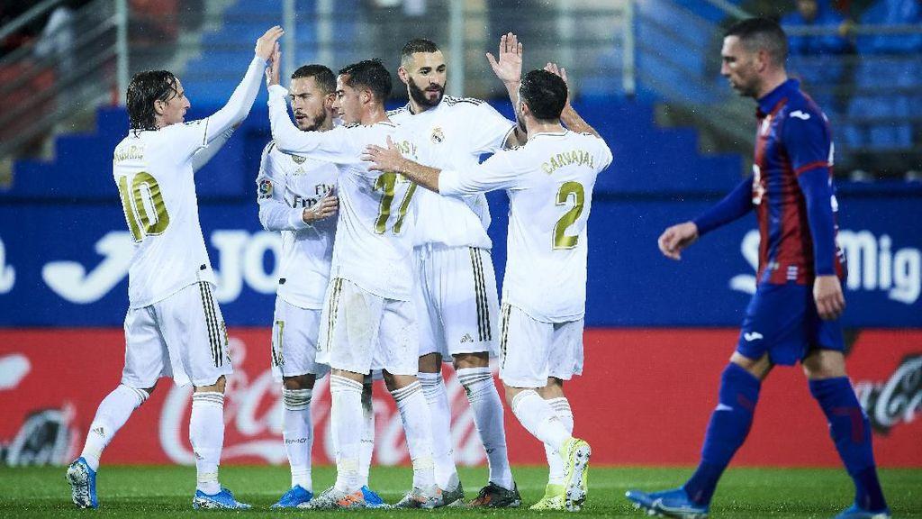 Madrid Menang Besar di Kandang Eibar