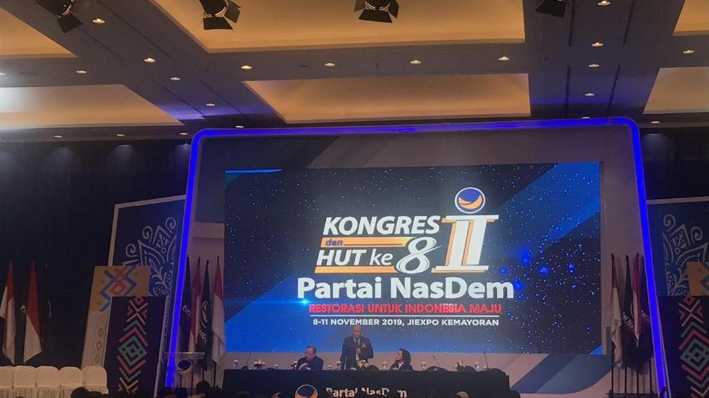Viktor Laiskodat Heran Ada yang Ribut Anies Hadiri Kongres NasDem