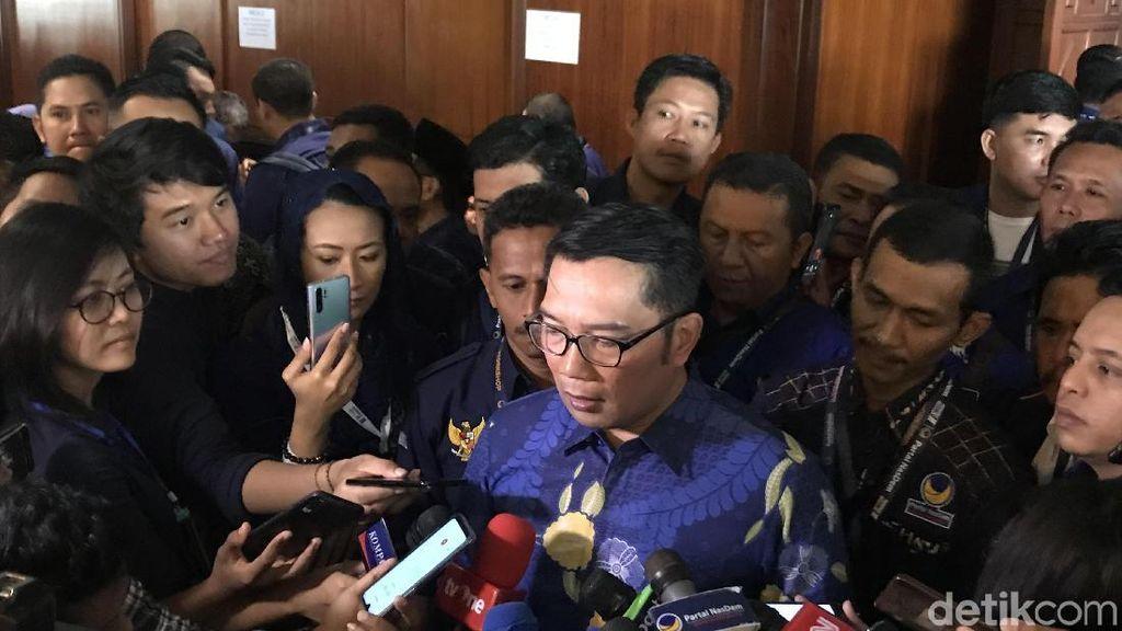 100 Pabrik Pindah ke Jateng, Ridwan Kamil: Rezeki Buat Pak Ganjar