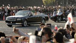 Baru Dipakai Sekali, Toyota Century Kaisar Jepang Dipajang di Istana