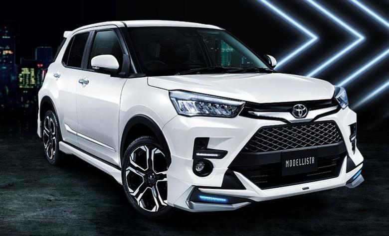 Toyota Raize Versi Modellista. Foto: Dok. Toyota
