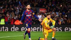 Hasil Liga Spanyol: Messi Hat-trick, Barcelona 4-1 Celta Vigo