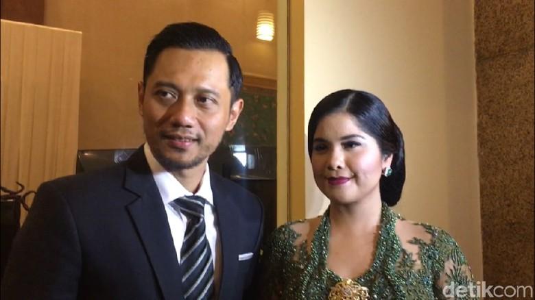 Foto: AHY berewokan dan Annisa Pohan / Desi P