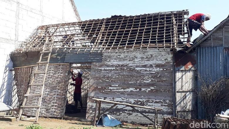 Ini Kerusakan yang Ditimbulkan Angin Kencang di Bojonegoro