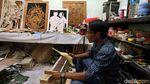 Lukisan Triplek Asal Kepri Tembus Pasar Eropa Lho