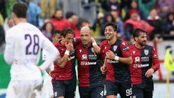 Hasil Liga Italia: Hajar Fiorentina 5-2, Cagliari ke Peringkat Ketiga