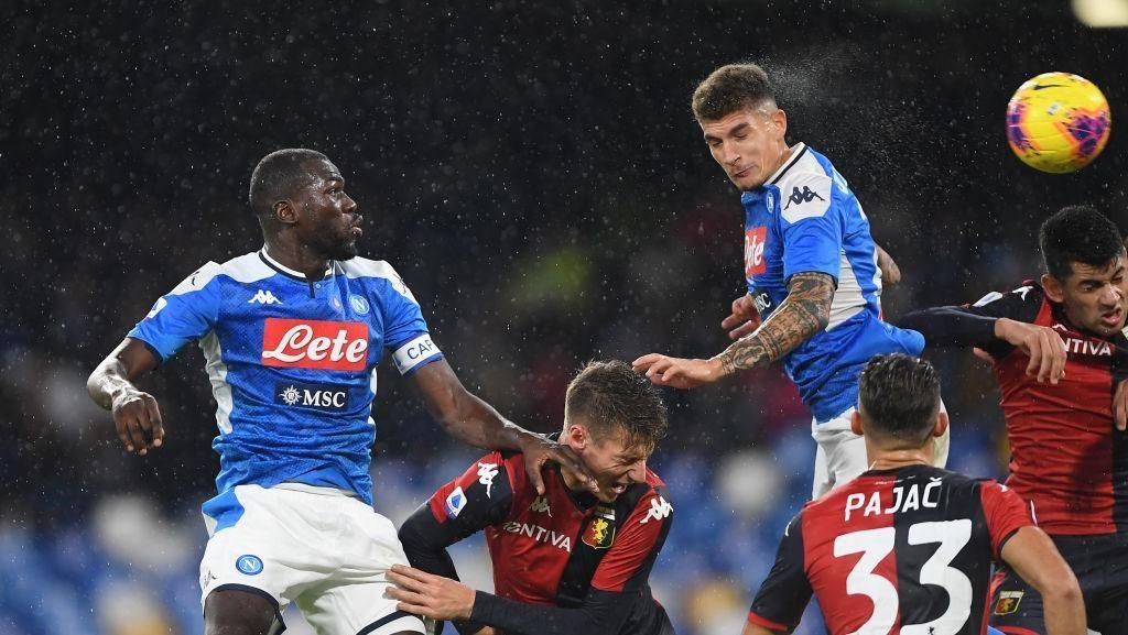 Napoli Vs Genoa Tuntas Tanpa Gol