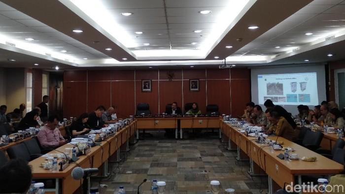Rapat KUA-PPAS di DPRD DKI (Arief/detikcom)