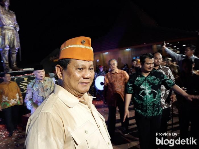 Foto: Prabowo Subianto (Pradito Rida Pertana/detikcom)
