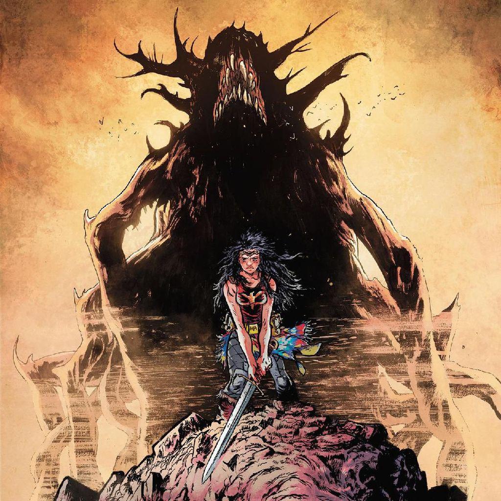 DC Ungkap Penampilan Perdana Wonder Woman: Dead Earth