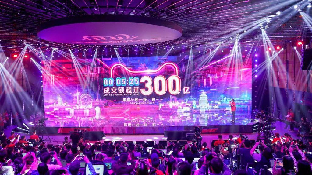 Festival Hari Jomblo, Alibaba Raup Rp 168 Triliun dalam Sejam