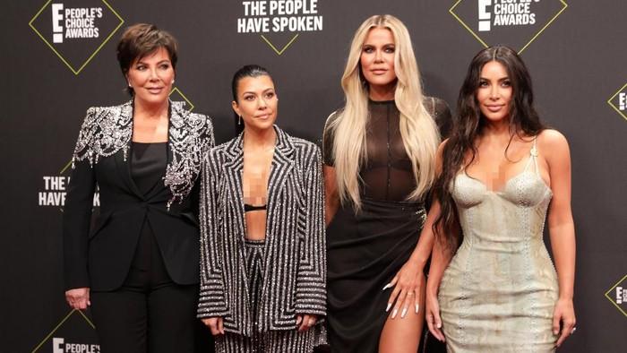 Kim Kardashian di Peoples Choice Awards 2019. Foto: REUTERS/Monica Almeida