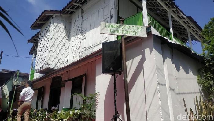Wisata heritage Lawang Seketeng (Foto: Deny Prastyo Utomo)