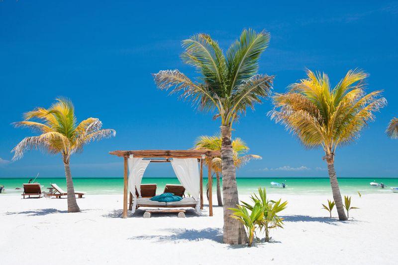 Inilah Isla Holbox, sebuah pulau yang menjadi negara bagian Quitana Roo, Meksiko. Berada di antara Teluk Meksiko dan Laut Karibia, pulau ini begitu kaya dengan pemandangan indah. (iStock)