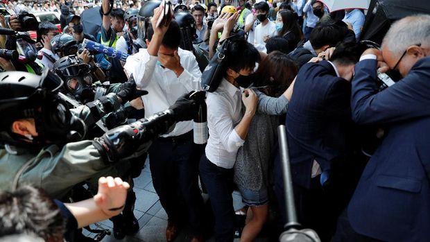 Ketakutan Landa Hong Kong, Bank Pulangkan Staf Lebih Cepat