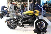 Lihat Langsung Motor Listrik Harley-Davidson