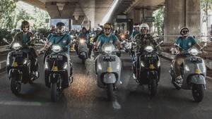 Vespa GTS Super Tech 300 Menyapa Kota Kembang
