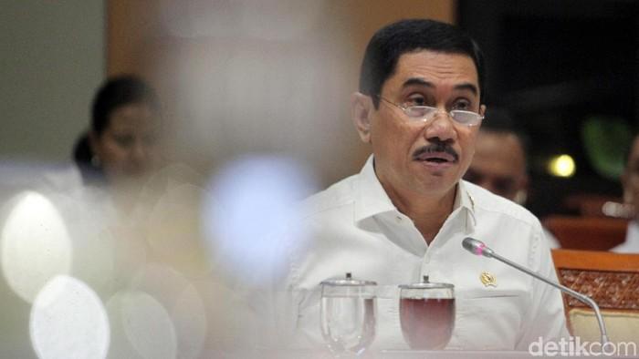 Foto:  Kepala BNPT Suhardi Alius. (Lamhot Aritonang-detikcom)