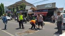 Mahasiswa IAIN Jember Tewas Tertabrak Setelah Jatuh dari Motor