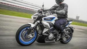 Gagahnya Motor Sport Listrik Kymco RevoNex