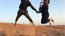 Gaya Artis Indonesia & Mancanegara Saat Liburan ke Dubai