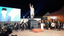 Resmikan Patung Pangsar Sudirman, Prabowo Mewakili Presiden