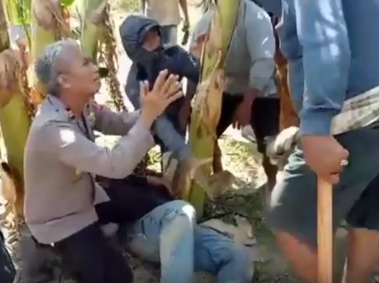 Profil Kapolsek yang Bersimpuh Saat Bentrok Warga-Penambang Pasir di Pinrang